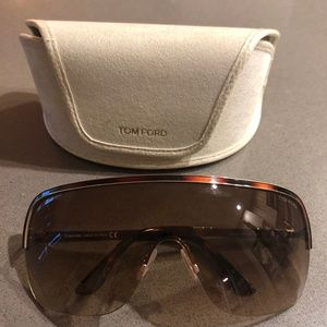 1292d557b789 TOM FORD Brown Gradient Gianna Sunglasses